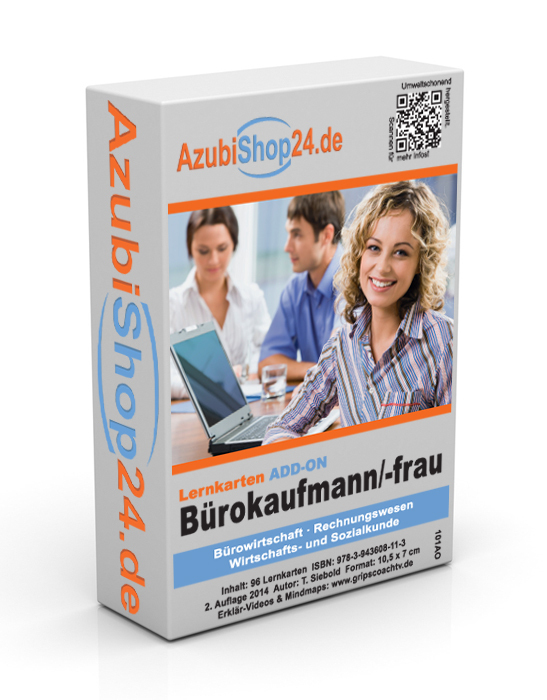 Add-on-Lernkarten Bürokaufmann/Bürokauffrau